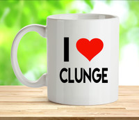 I Love Clunge Rude Adult Mug