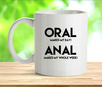 Oral Or Anal Rude Adult Mug
