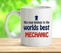 Worlds Best Mechanic Mug