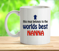 Worlds Best Nanna Mug