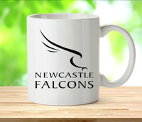 Newcastle Falcons Rugby Mugs