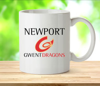 Newport Gwent Dragons Rugby Mugs