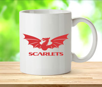 Scarlets Rugby Mugs
