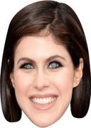 Alexandra Daddario - TV Stars Face Mask