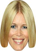 Claudia Schiffer - TV Stars Face Mask