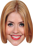 Holly Willoughby - TV Stars Face Mask