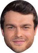 Alden Ehrenreich - TV Stars Face Mask
