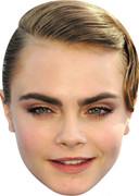 Cara Delavigne - TV Stars Face Mask