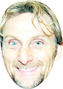 Carl Fogarty - TV Stars Face Mask