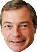 Nigel Farage New 2016 - TV Stars Face Mask