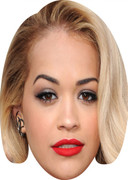 Rita Ora  Tv Stars Face Mask