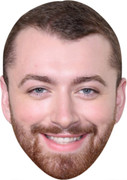 Sam Smith  Music Stars Face Mask