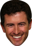 Adam Scott - Golf Stars Face Mask