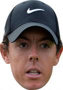 Brandon De Jonge  Golf Stars Face Mask