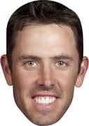 Charl Schwartzel  Golf Stars Face Mask