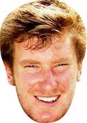 Chris Wood  Golf Stars Face Mask