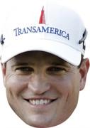 Zach Johnson - Golf Stars Face Mask
