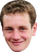 Alistair Brownlee Celebrity Face Mask  Party Mask