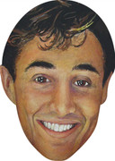 Andrew Ridgely Celebrity Face Mask - Party Mask