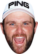 Andy Sullivan Golf Celebrity Face Mask  Party Mask