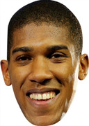 Anthony Joshua Boxing Celebrity Face Mask  Party Mask