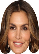 Cindy Crawford Celebrity Face Mask - Party Mask