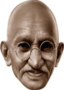 Gandhi Celebrity Face Mask  Party Mask