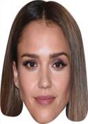 Jessica Alba  Celebrity Face Mask  Party Mask