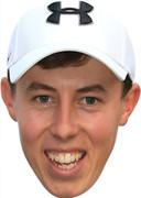 matt Fitzpatrick golf - Celebrity Face Mask - Party Mask