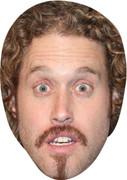 TJ Miller Comedian Face Mask