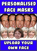 Personalised A3 Big Head Create Your Own Face Mask
