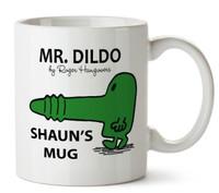 Mr Dildo Man Personalised Mug Cup