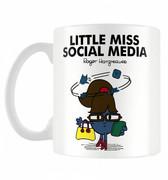 Little Miss Social Media Personalised Mug Cup