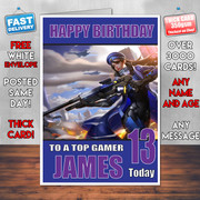 ANA OVERWATCH BM2 Personalised Birthday Card
