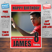 Sanchez Bm1 Personalised Birthday Card