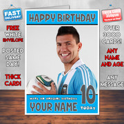 Sergio Agureo Bm2 Personalised Birthday Card