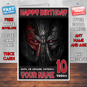 AGE OF EXTINCTION BM2 Personalised Birthday Card