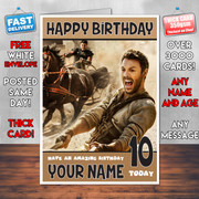 BEN HUR BM1 Personalised Birthday Card