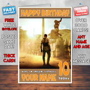 BEN HUR BM2 Personalised Birthday Card