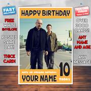 Breaking Bad 2 Bm1 Personalised Birthday Card