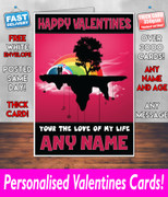 His Or Hers Valentines Day Card Ke1 Valentines Day Card