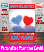 HIS OR HERS VALENTINES DAY CARD KE5 Valentines Day Card