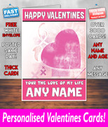 HIS OR HERS VALENTINES DAY CARD KE9 Valentines Day Card