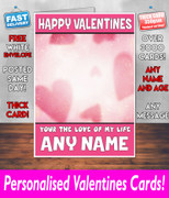 HIS OR HERS VALENTINES DAY CARD KE11 Valentines Day Card
