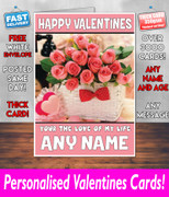 HIS OR HERS VALENTINES DAY CARD KE19 Valentines Day Card