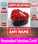 HIS OR HERS VALENTINES DAY CARD KE24 Valentines Day Card