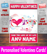 HIS OR HERS VALENTINES DAY CARD KE29 Valentines Day Card