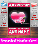 HIS OR HERS VALENTINES DAY CARD KE31 Valentines Day Card