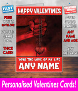 HIS OR HERS VALENTINES DAY CARD KE36 Valentines Day Card