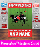 HIS OR HERS VALENTINES DAY CARD KE42 Valentines Day Card